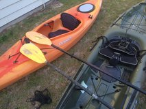 Dagger element kayak in Beaufort, South Carolina