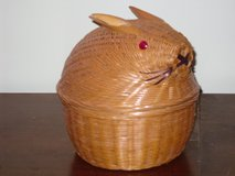 basket w/bunny lid in Glendale Heights, Illinois