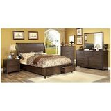 Dark Wood Finish Bed (Ribeira) in Fort Irwin, California