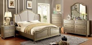 CLASSY GOLD FINISH BED in Fort Irwin, California