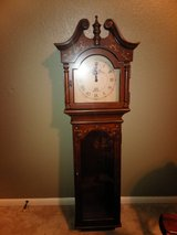 Grandmother clock (hangs on wall) in Houston, Texas