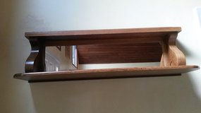 Mirror with shelving in Lockport, Illinois