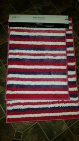 New / Pink / Purple / 2 Piece Bathroom Rug Set in Fort Campbell, Kentucky