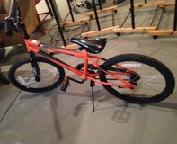 "20"" Orange Malice Bike in Aurora, Illinois"