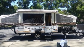 2012 Rockwood Freedom pop up trailer with slide out and Quad deck in Vacaville, California