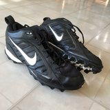 SUPER CLEAN Nike 10 1/2 Football Cleats in Oswego, Illinois