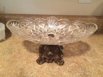 Large Vintage cut glass center piece bowl in 29 Palms, California