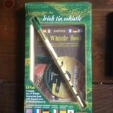 Irish tin whistle with book and dvd in Houston, Texas