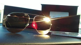 CHRISTIAN DIOR ROSE GOLD AVIATOR (NEW IN BOX) in Kingwood, Texas