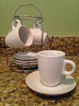 Great Condition - 8 Piece Imusa Espresso Set w/ Caddy in Columbia, South Carolina