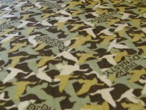 Handmade Duck Dynasty Fleece Blanket in Fort Bragg, North Carolina
