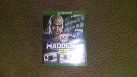Trading Madden NFL 25 Xbox One for Xbox Live Gold Card (3 months)! in Temecula, California