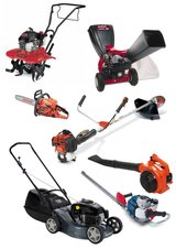 WANTED: Used riding mower, weedeater & chainsaw: any small engine products in Todd County, Kentucky
