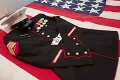 We are in need of Dress Blues and Dress Blues Accessories in Camp Lejeune, North Carolina