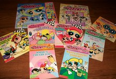 9 Powerpuff Girls Book Lot Play A Sound Look & Find Books + in Houston, Texas