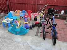 2 Great 20'' Bikes and More Toys Sale All in Joliet, Illinois
