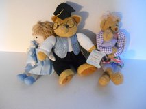 New 2 Hallmark Bears, Moneypresenter, Hyacinth/Cuddlesworth,1 doll in Phoenix, Arizona