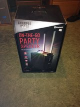 On-The-Go party speaker with Karaoke& lights in Fort Polk, Louisiana