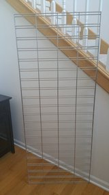 Gridwall Panel with Wall Mount Brackets in Tinley Park, Illinois