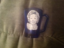 Shirley Temple Vintage Cobalt Blue cup with handle in Travis AFB, California