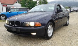 AUTOMATIC BMW 523i with new inspection free delivery in Hohenfels, Germany