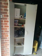 White Storage cabinet. Free in Lakenheath, UK