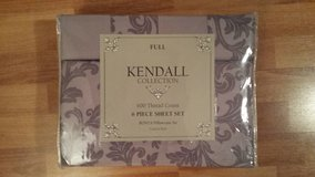 Kendall Collection 600TC Full 6pc Sheet Set in Fort Eustis, Virginia
