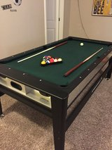 3-in-1 swivel table ( Air hockey, ping pong and pool table) in San Antonio, Texas