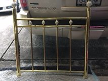 Brass Daybed with Trunnel bed pop-up and Mattress in Houston, Texas