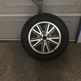 Mustang tire & rim 216/65R16 in Spring, Texas