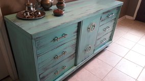 Teal Dresser in Baytown, Texas