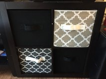 4 cube organizer(boxes included) in Moody AFB, Georgia
