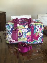 Large Multi Color Baby Travel Bag ( Looks like New ) in Fort Irwin, California