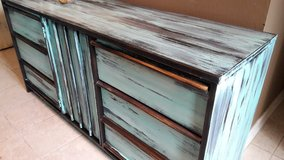 Bassett Teal Dresser in Baytown, Texas