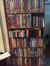 DVD tower in Beaufort, South Carolina