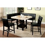 NEW!!! COUNTER HEIGHT MARBLE LEATHER DINING SET in Vista, California