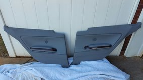 BMW e46 Coupe Rear Right and Left Door Panels w/Orig Speakers & Armrest in Warner Robins, Georgia