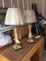 """Traditional Table Lamps, Set of 2 Earth Tone 30.5"""" High in Las Cruces, New Mexico"""