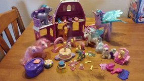 Misc. My little Pony items and cafe in Beaufort, South Carolina