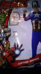 Captain America in Houston, Texas