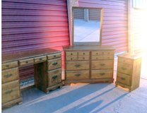 Bedroom Furniture, 4 Piece Early American Style in Las Cruces, New Mexico