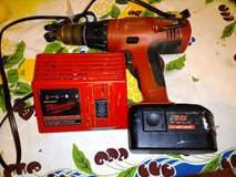 Milwauakee 18 Volt Cordless Drill and Charger in Hopkinsville, Kentucky
