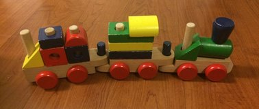 Melissa & Doug: Magnetic Hide & Seek Board + Stacking Train in Fort Campbell, Kentucky