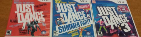 Just dance Wii games in Beaufort, South Carolina