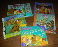 5 Scooby Doo HC Books Pop Up Lenticular Play A Sound Book Lot in Houston, Texas