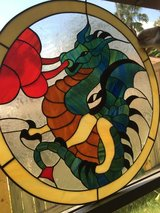 Stained Glass Dragon 21.5' Inches in Houston, Texas