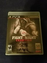 Fightnight Champions for PS3 in Camp Lejeune, North Carolina