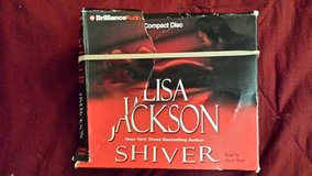 Shiver by Lisa Jackson 5 discs audiobook in Perry, Georgia