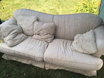 White full size couch in Minneapolis, Minnesota