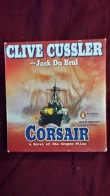 Corsair by Clive Cussler 5 discs Audiobook in Macon, Georgia